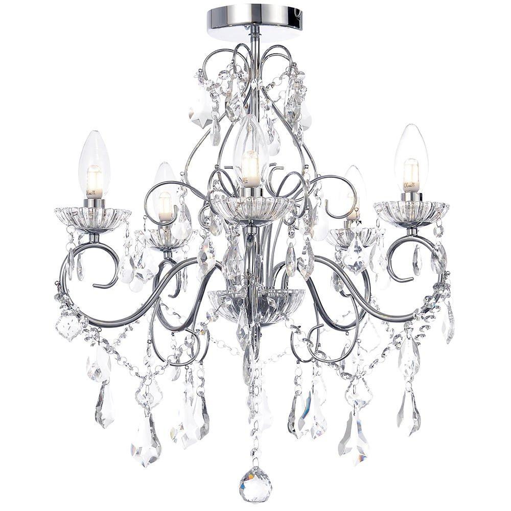 Forum Vela 5 Light Chandelier