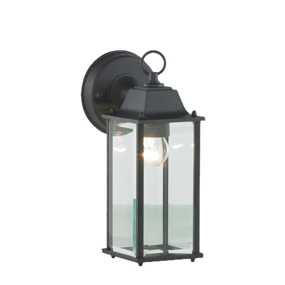Forum Outdoor Ceres Black Diecast Aluminium Outdoor Wall Lantern