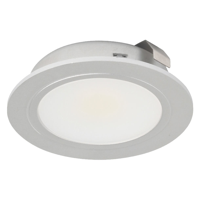 LED Round Recessed Cabinet Light White