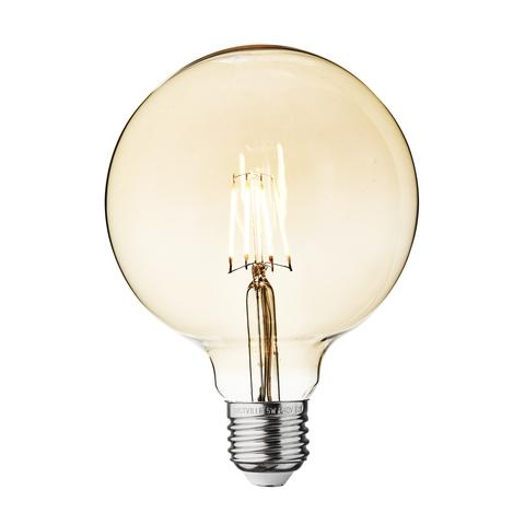 5w Dimmable Vintage E27 LED Filament G125 Globe