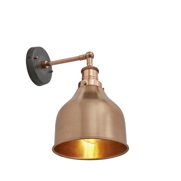 Industville Brooklyn Wall lamp 7 inch Antique Copper