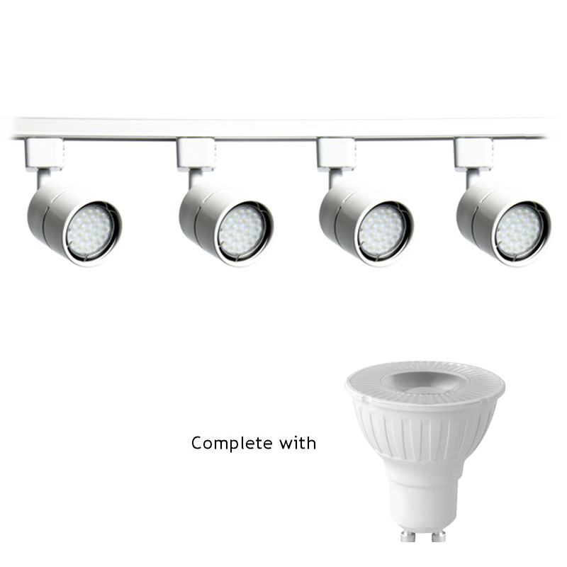 Megaman 5W Dimmable Led GU10 Track Lighting Kit