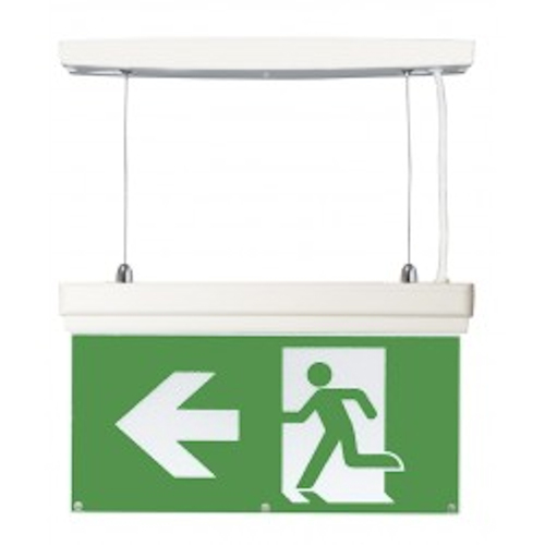 3W LED 4-in-1 Emergency Exit Sign - IP20 4000k