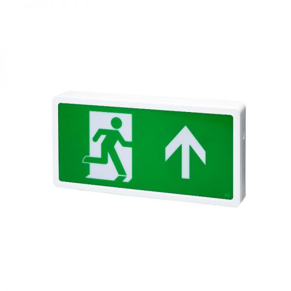 3W LED Slim Line Emergency Exit Sign/Box - IP20 4000K