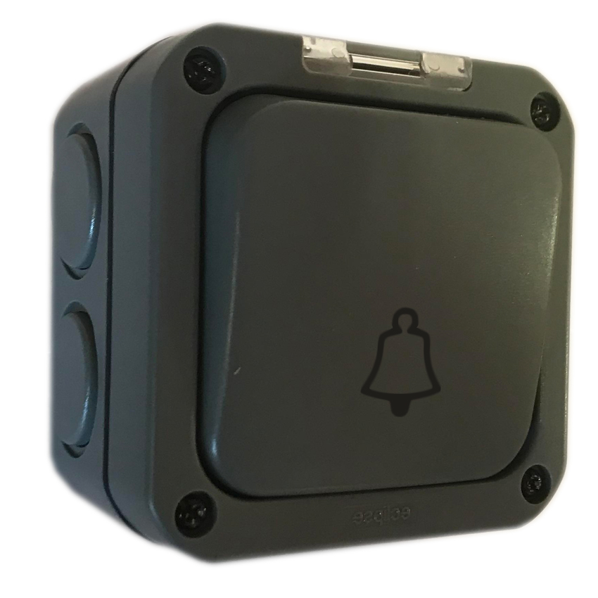 1 Gang Outdoor Weatherproof Bell Switch IP65