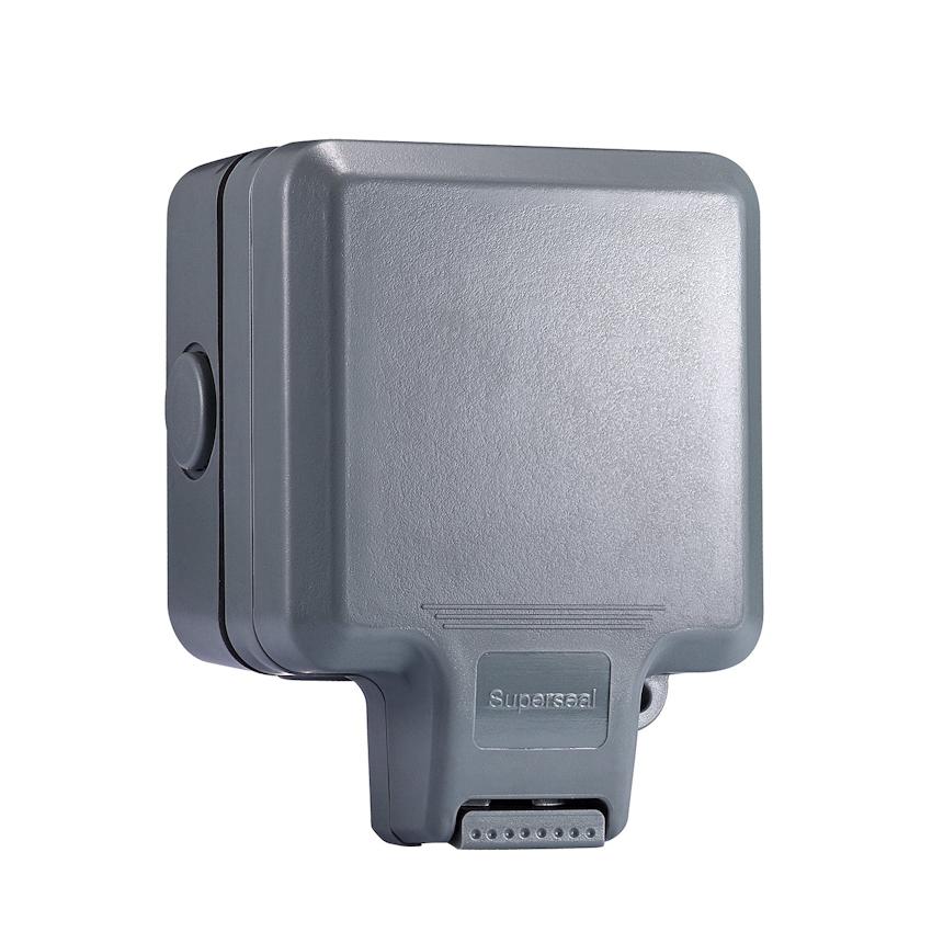 1 Gang Outdoor Waterproof Switched Socket IP65