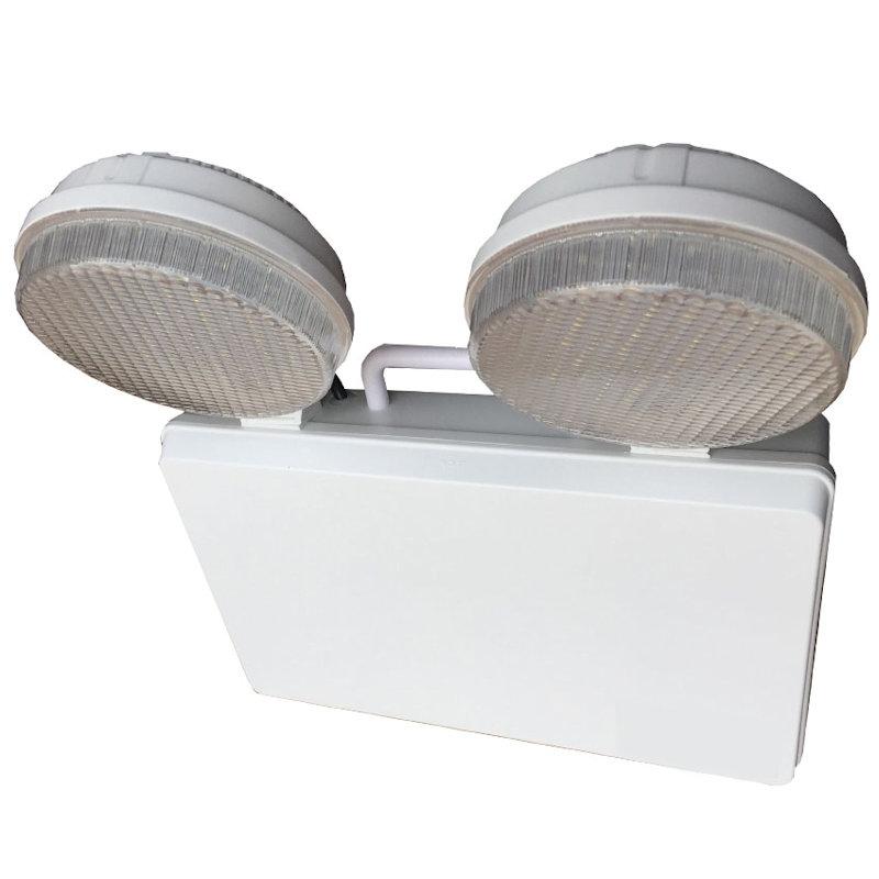 2 x 3W LED Twin Spot Emergency Light - IP20 4000K