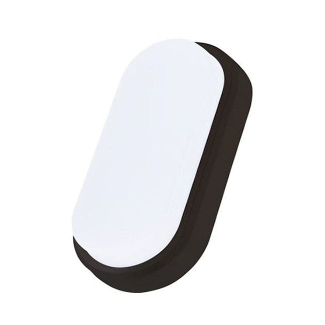 12w LED Oval Shaped Bulkhead, IP65, Cool White