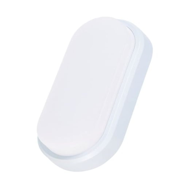 12w LED Oval Shaped Bulkhead, IP65, Cool White