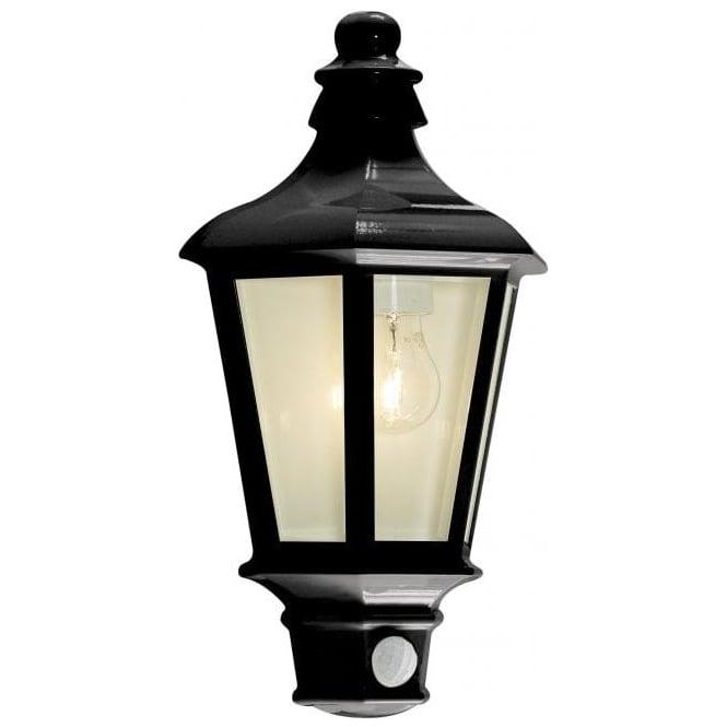 Forum Pallas Outdoor Half-Lantern Anthracite Grey PIR