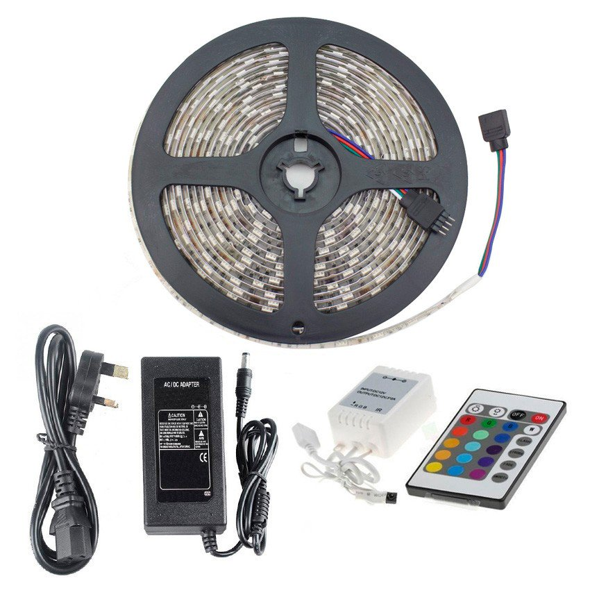 RGB LED Tape Kit, Complete with Driver