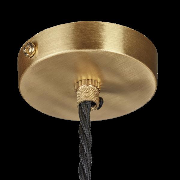 Industville Vintage Sleek Edison 1 - Wire Pendant - Brass