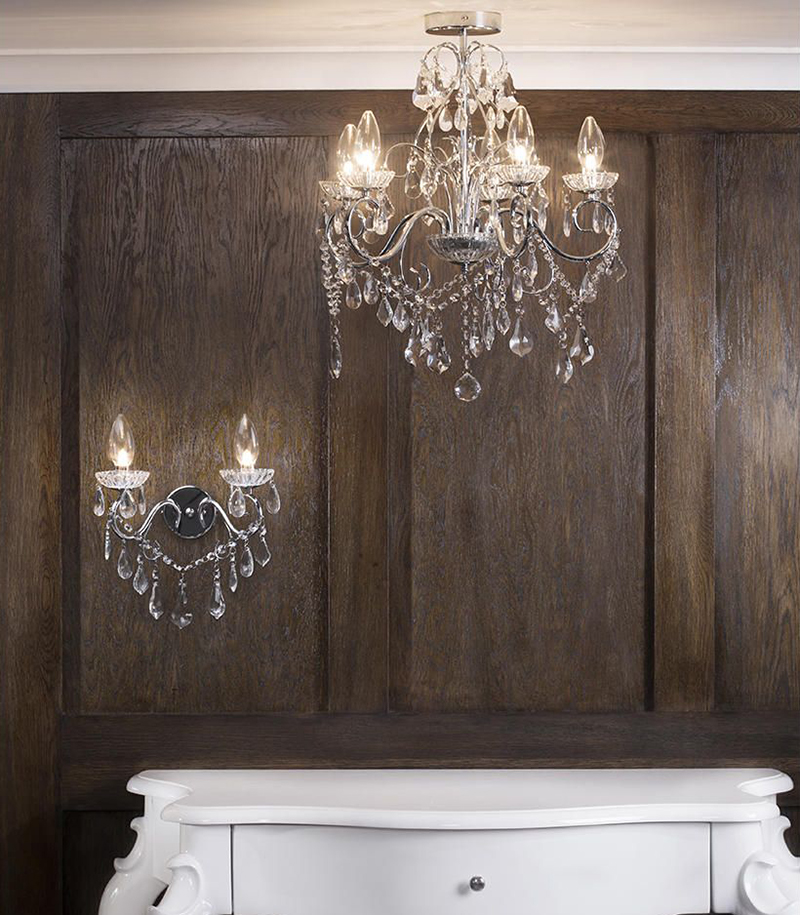 Forum Vela Decorative Bathroom Wall Light