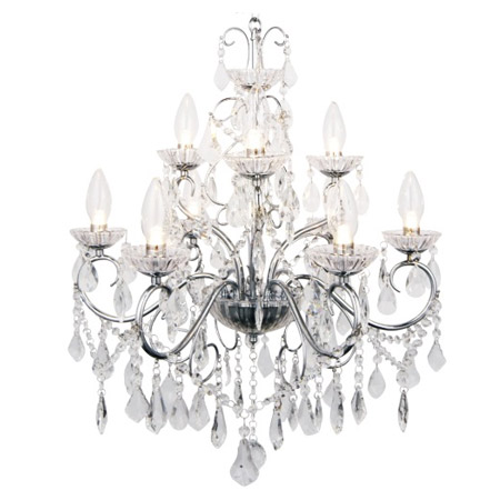 Forum Vela 9 Light Chandelier