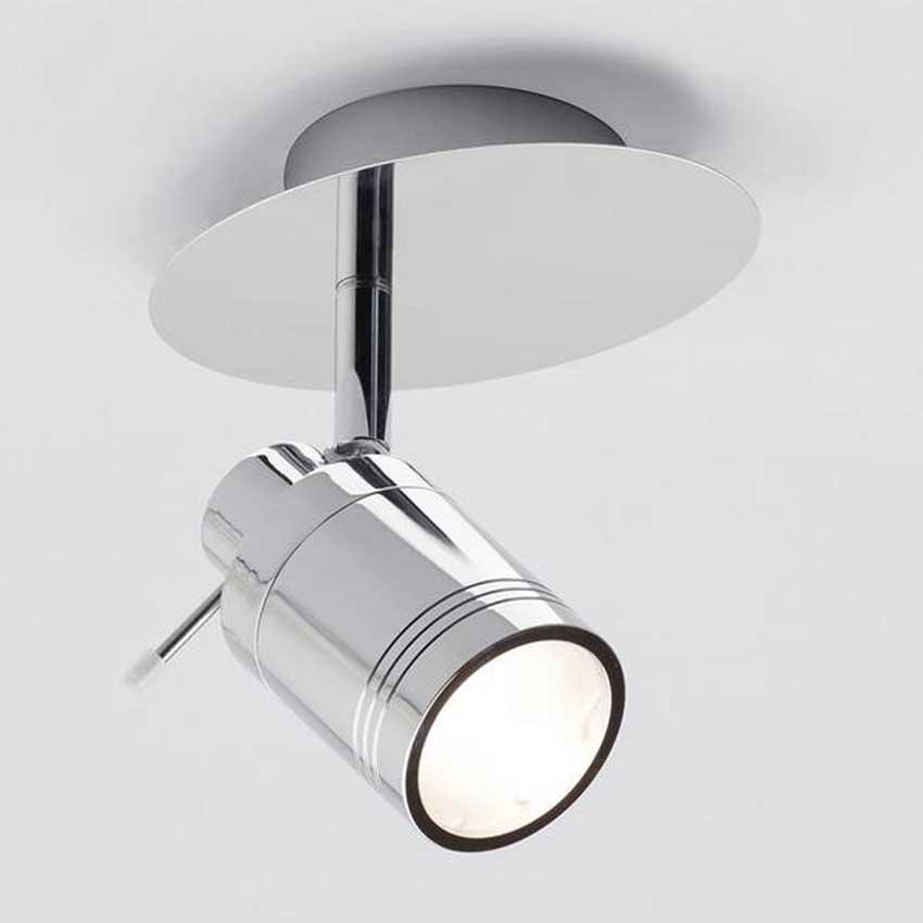 Forum Polished Chrome Scorpius Bathroom Single Spotlight