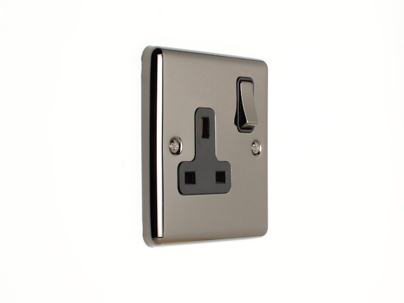Black Nickel Single Socket