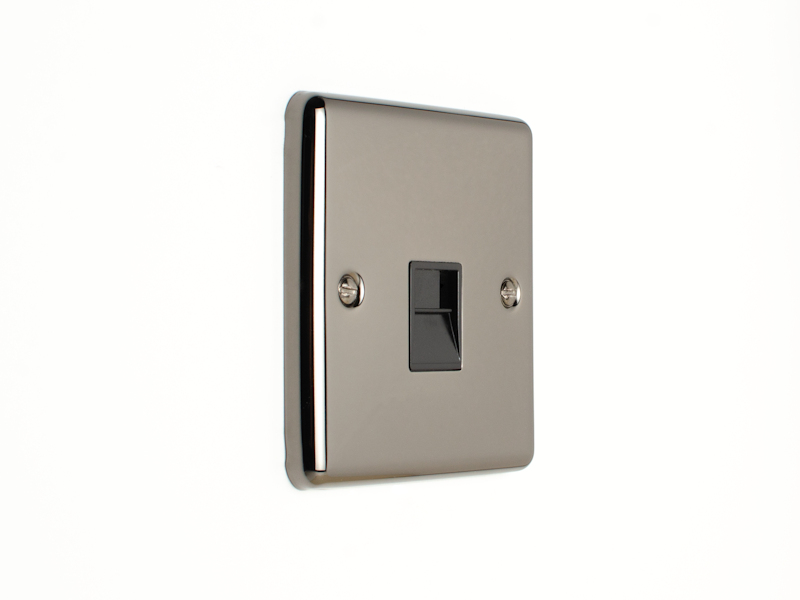 Black Nickel Telephone Master Socket