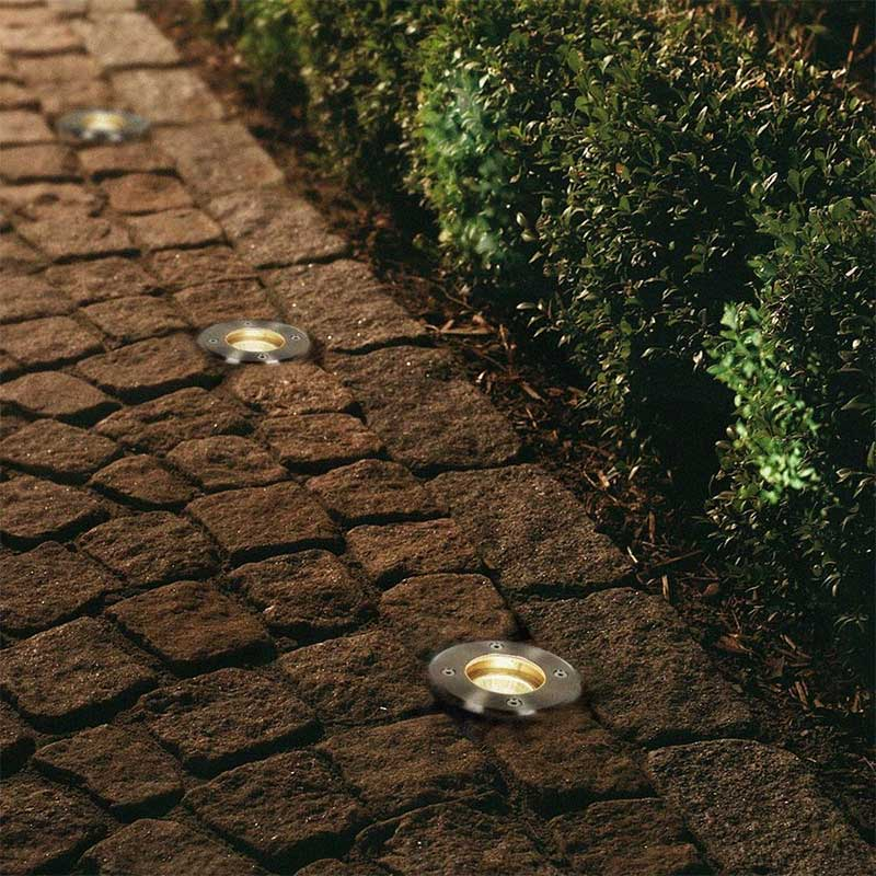 Forum Outdoor Recessed Walk Over Ground Light