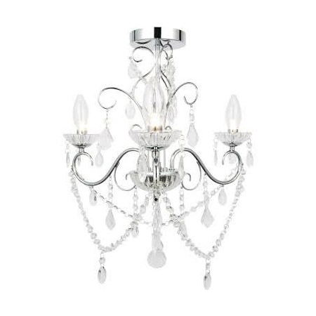 Forum Vela 3 Light Chandelier