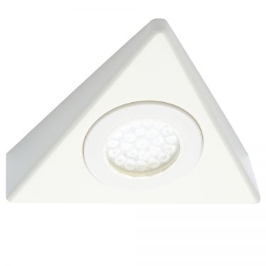 LED Triangle Surface Cabinet Light White