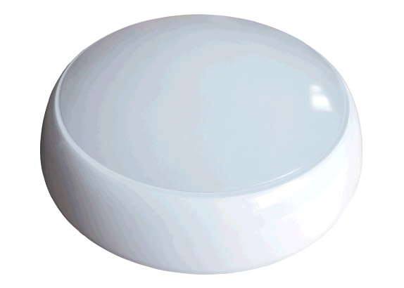 17W LED 2D Bulkhead Amenity Cool White Light IP65