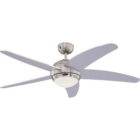 Westinghouse Silver Bendan 52 inch 132cm Ceiling Fan With Light and Remote control