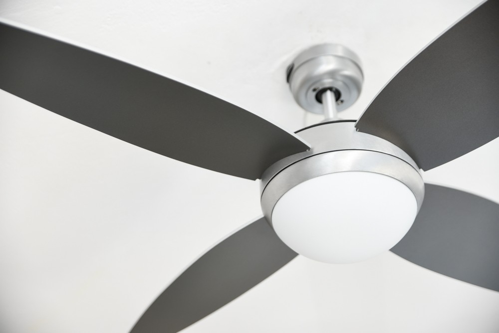 Westinghouse Havana 52in 132cm Brushed Aluminium Ceiling Fan With Light and Remote Control