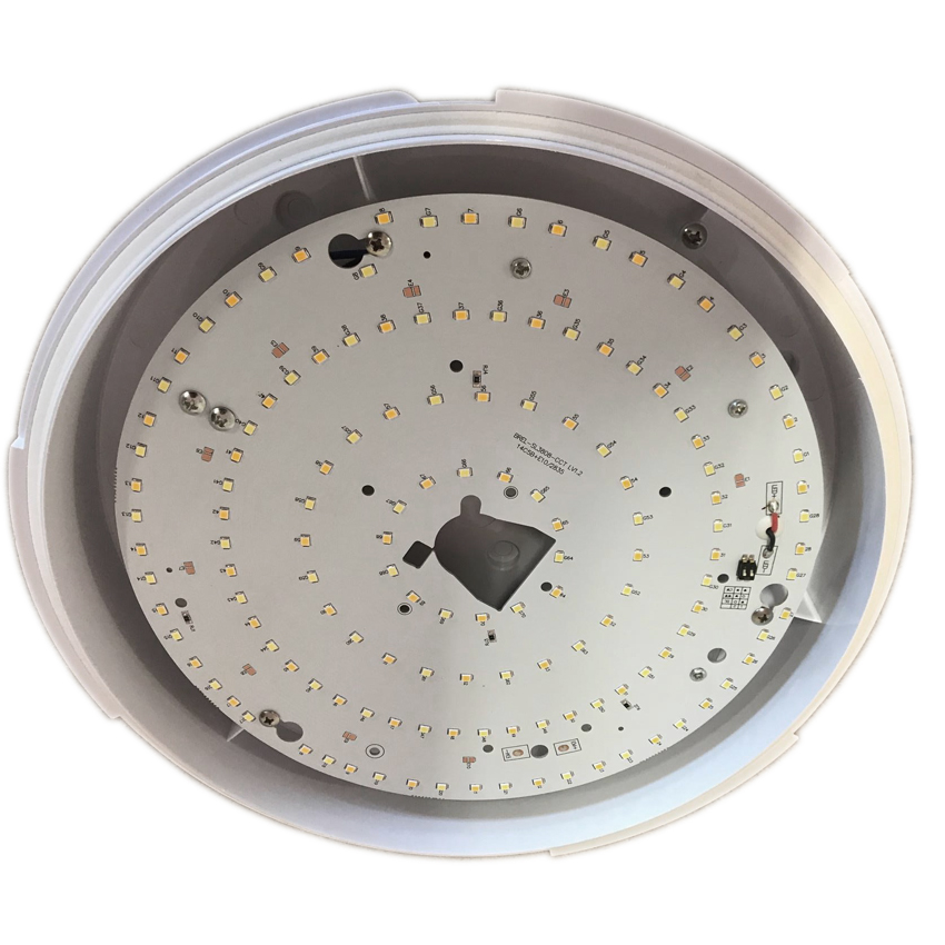 17W LED 2D IP65 microwave sensor 3 hour maintained emergency