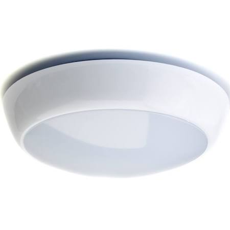 16W LED Bulkhead Emergency 2D Amenity Ceiling Light IP65 Rated