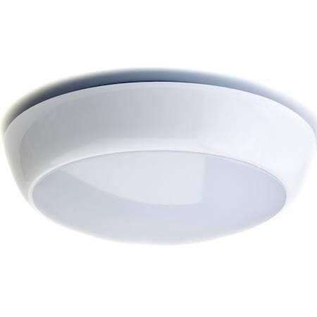 16W LED Bulkhead Emergency 2D Amenity Ceiling Light IP65 Rated