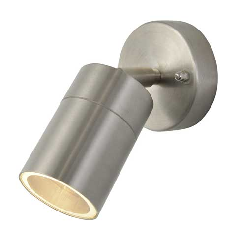Leto Single Light Outdoor Wall Light In 4 Colour Finishes