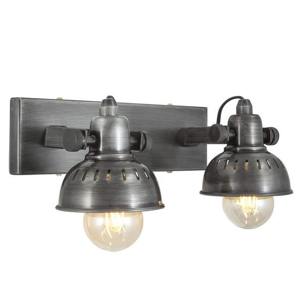 Industville Vintage Adjustable Swivel double Wall Light