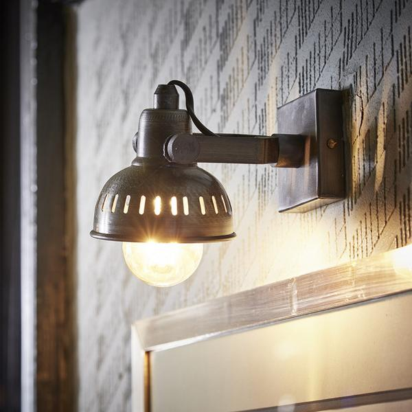 Industville Vintage Adjustable Swivel Wall Light