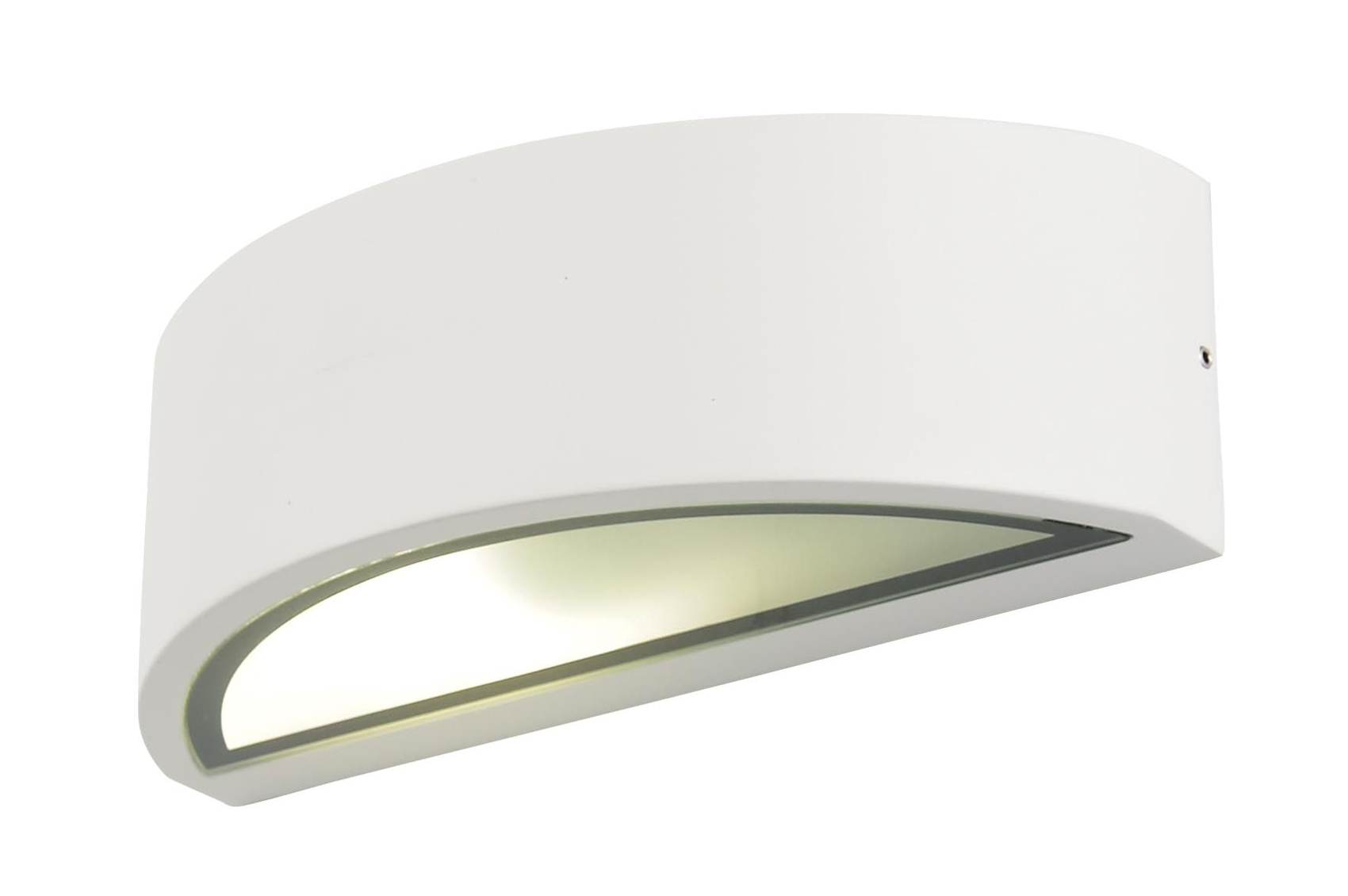 Forum Outdoor Selene Curved wall fitting White