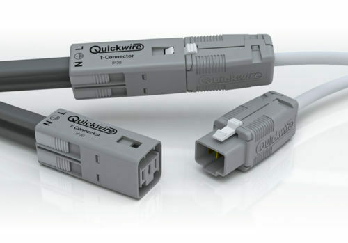 Quickwire T-Connector Plug & Socket