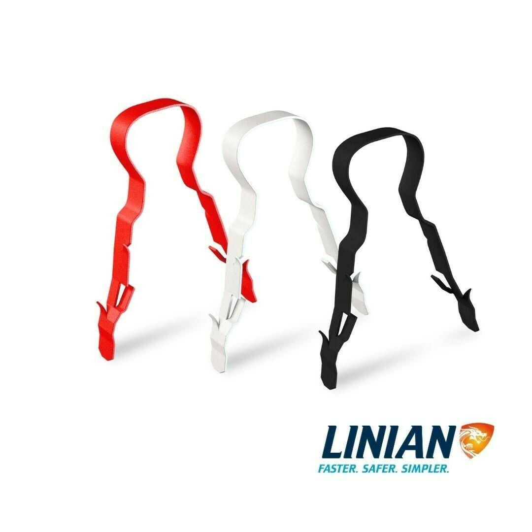 LINIAN SuperClip - Black 12-14mm, 15-18mm, 18-20mm, 20-22mm 23-25mm
