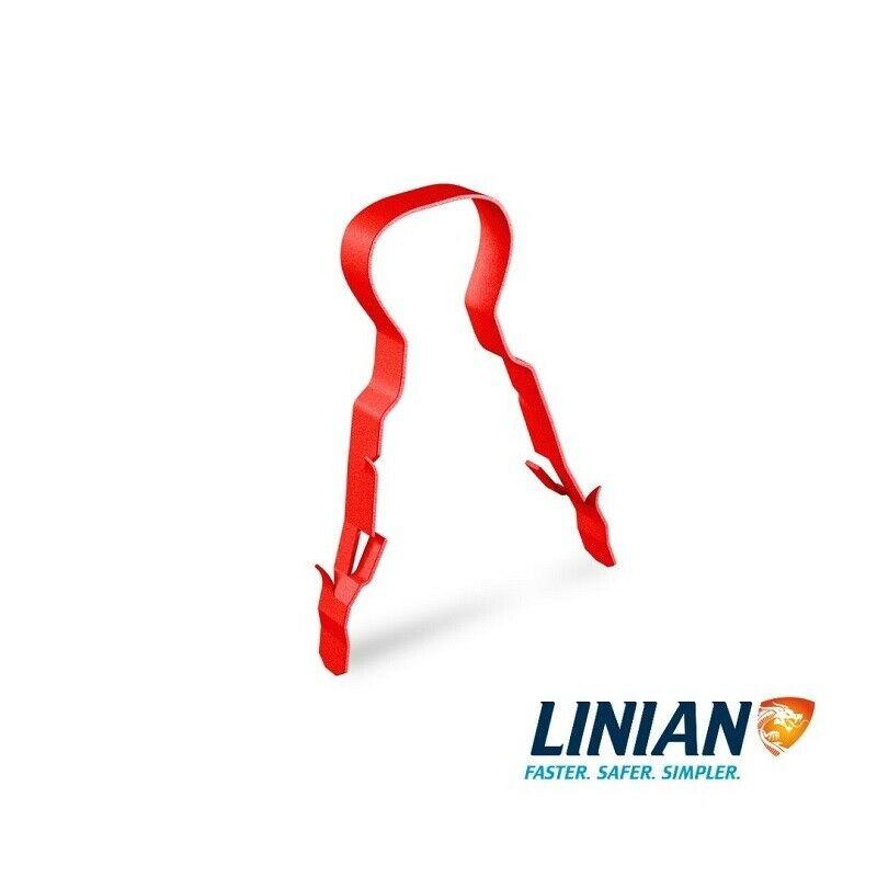 LINIAN FireClip - Single Red 4-6mm, 6-8mm, 9-11mm, 11-14mm