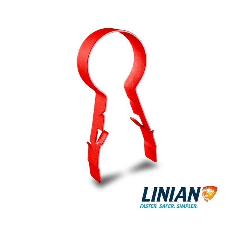 LINIAN SuperClip - Red 12-14mm, 15-18mm, 18-20mm, 20-22mm 23-25mm
